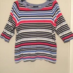 Multi-Color Stripe Shirt by Tommy Hilfiger
